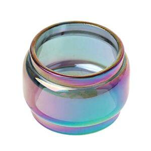 Denghui-ec 1pcs Rainbow Tube en Verre Gras Transparent FIT pour Cerberus Subohm Tank Kit Y1AA