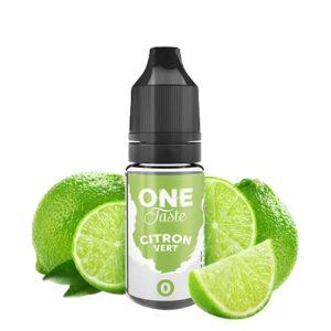 e-liquide citron vert 10ml 0mg – e.stasty – One Taste – Sans Tabac – Sans Nicotine – Lot de 10