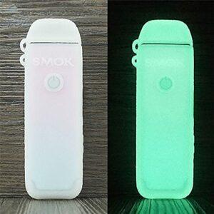 ORIN Smok Acro – Coque en silicone texturé pour kit Smok Acro – Coque antidérapante – Brille dans le noir