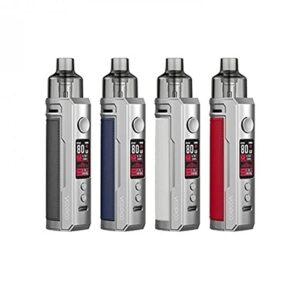 VooPoo – Kit Pod Drag X Voopoo (silver colors) – Gris / Blanc