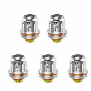 VOOPOO UFORCE Lot de bobines de rechange U2 Dual 0,4 Ohm pour VOOPOO Drag 2 Kit Drag Mini Kit (Uforce U2)