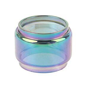 1pc arc-en-ciel pyrex tube de verre de verre de verre de verre ajustement de remplacement pour ijust 3 kit (Couleur : Multi)