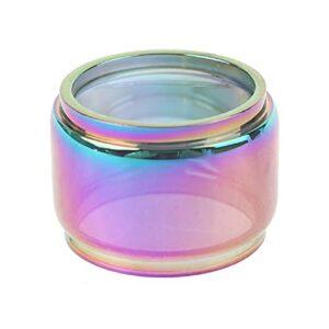 1PC Rainbow Color Pyrex Tube en verre Verre Graisse Tank Fit pour la lapin Dead RTA