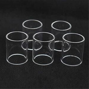 5PCS Ajustez pour le tube de verre de Katana Subohm Fit pour IJOY ELF MTL TPD Conforme 2ML Baguette sabre 100w vengeur TROUSSE 4ml (Couleur : 5PCS, Taille : Fit for Avenger 4ml)