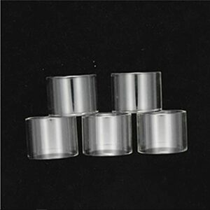 5PCS Tank de verre de graisse/tube en verre apte à OUMIER BOMBUS RTA Diamètre 2 ml / 3,5 ml VULK RTA (Couleur : Fat, Taille : Fit for BULK RTA)