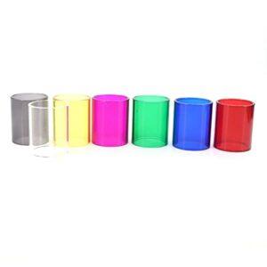7PCS Tube de verre de rechange ajustement pour Kangertech sous -tank mini-C (expédié une de chaque couleur) (Couleur : Subtankmini-c 3ml)