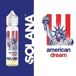 american dream 50ml – solana – Sans Tabac – Sans Nicotine