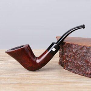 BILXXY Pipe à Fumer en Bois de personnalité, Pipe à Fumer à la Main sculptée à la Main, Meilleure pour Les Femmes, Les Hommes, Tous Les Amateurs de Fumeurs