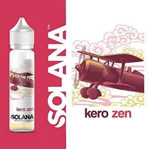 kero zen 50ml – solana – Sans Tabac – Sans Nicotine