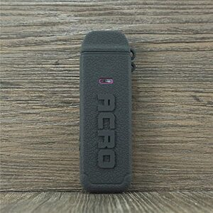 ORIN Smok Arcfox Coque en silicone texturé pour Smok Arcfox Antidérapant Noir