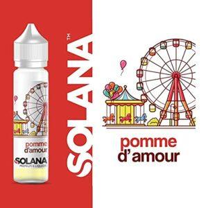 pomme d amour 50ml – solana – Sans Tabac – Sans Nicotine