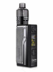 Voopoo Argus GT Kit – Gris vintage, 2 ml TPD, sans nicotine, sans tabac, sans pile
