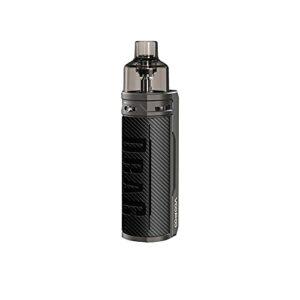 VOOPOO Drag X 80W 4.5ML Kit Cigarettes électroniques Kit de démarrage – Pas de batterie, sans e liquide, sans nicotine (Carbon Fiber)