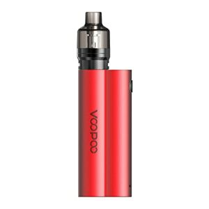 VOOPOO MUSKET 120W 4.5ml Box Kit Cigarettes électroniques Kit – Pas de batterie, sans e liquide, sans nicotine (Red)