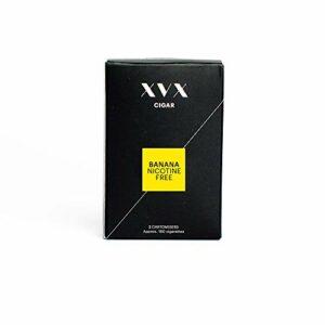 XVX Cigar – Pack de 2 Cartouches Pré-Remplies e Liquide Banane – Cigarette Électronique – e Cigar – Cigare USB – Sans Nicotine Sans Tabac