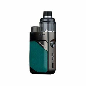 Original Vaporesso Swag PX80 Kit 80W Pod Mod & 4ml Cartridge Pod Fit 0.2ohm 0.3ohm GTX Mesh Coil Electronic Cigarette Vaporizer Emerald Green