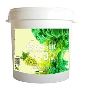 Goût Chicha Sans Tabac – Pot de 1 Kg (Raisin Menthe)