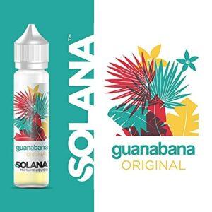 Guanabana 50ml Solana sans Nicotine ni Tabac 0 mg