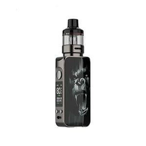 Kit d'origine Vaporesso LUXE 80 S 80W 0.001s Mod de vape de cigarette électronique insta-fire avec 5 ml GTX Pod 26 adopte des bobines GTX (Gorilla)