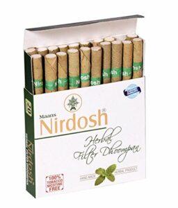 Nirdosh TheHerbalShop Lot de 5 paquets de cigarettes à base de plantes sans tabac ni nicotine