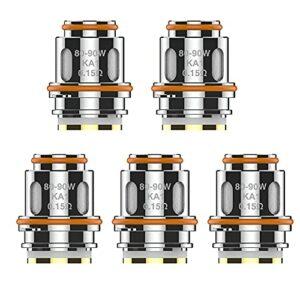 Original Geekvape Z coil Z0.15 Coil 0.15ohm Z0.25 Dual Coil 0.25ohm Series Core pour Zeus Sub Ohm Tank/Obelisk Tank/Aegis Legend 2 L200 Kit( Z0.15 Coil 0.15ohm)