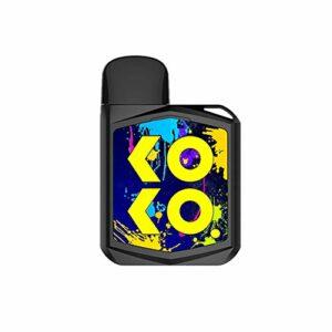 Original Uwell KOKO Prime Kit 690mAh Battery 15W Vape Fit Caliburn G Pod Cartridge 2ML Electronic Cigarette Vaporizer Black