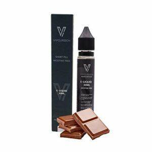 Vapoursson 30ml Chocolate 0mg E-liquide | Bouteilles Shortfill sans nicotine | 50/50 PG/VG – Forte saveurs réelles | Eliquide Pour E-shisha et E-cigarettes