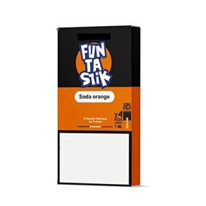 funtastik – Pods compatible Juul, Wpod et Vaze Pods – 4x1ml – 0,9% – Sans Tabac – Sans Nicotine