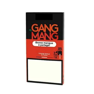 gang mang – Pods compatible Juul, Wpod et Vaze Pods – 4x1ml – 1,7% – Sans Tabac – Sans Nicotine